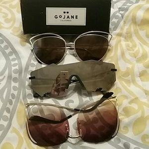 3pair sunglasses